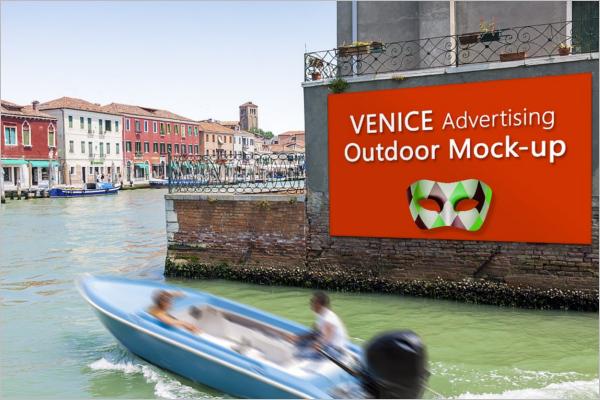 Modern Advertisement Mockup Template