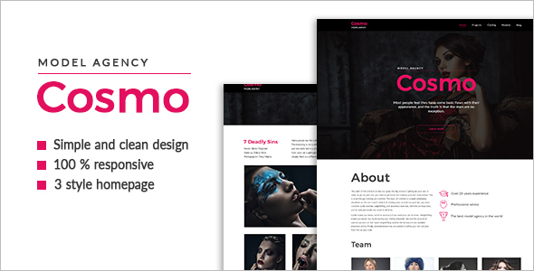 Modern Agency HTML5 Template