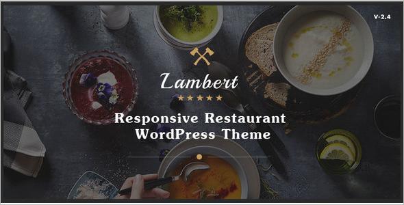 Modern Cafe Pub WordPress Theme