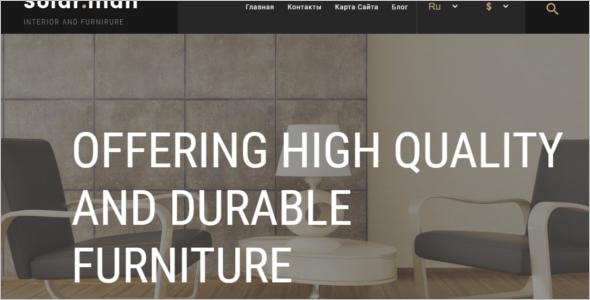 Modern Furniture Ecommerce Template