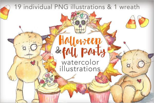 Modern Halloween Banner Idea