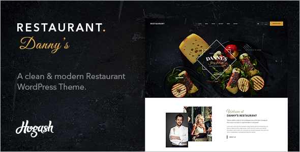 Modern Restaurant Website Themes