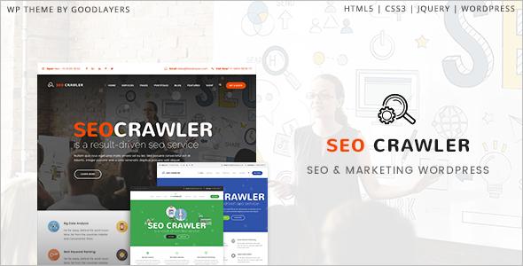 Modern SEO WordPress Theme