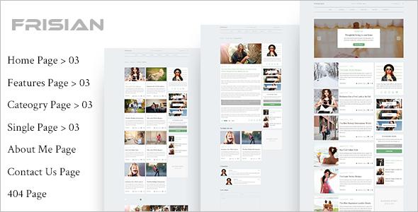 Multi Concept Magazine HTML5 Template