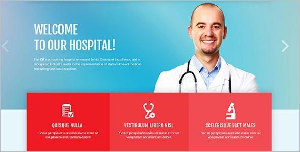 Multi Use Hospital WordPress Theme