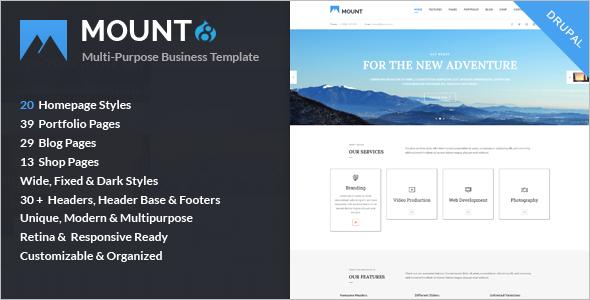 Multi-Concept Business Drupal 8 Theme