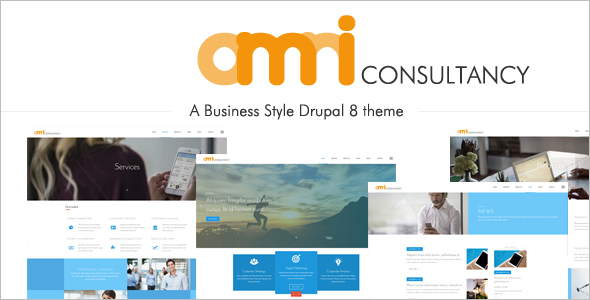MultiPurpose Business Style Drupal 8 Theme