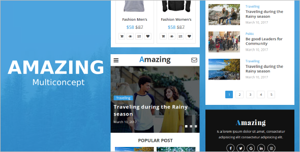 MultiConcept eCommerce Mobile Template