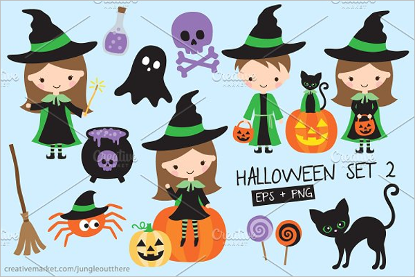 Multiple Halloween Background