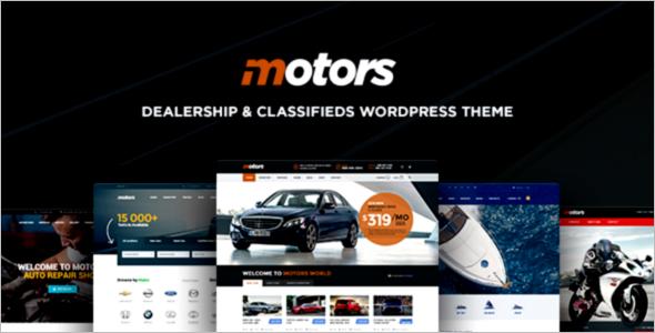 Multipurpose Car Dealer WordPress Theme