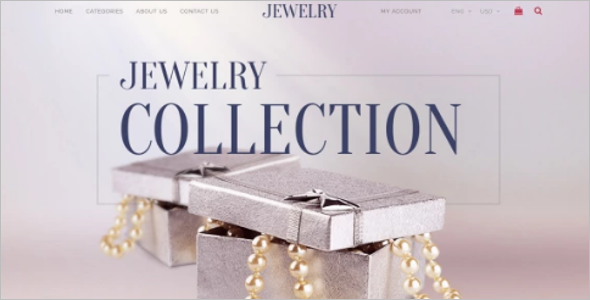 Multipurpose Jewelry Ecommerce Template