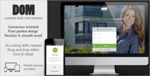 Multipurpose Pagewiz Landing Page Template
