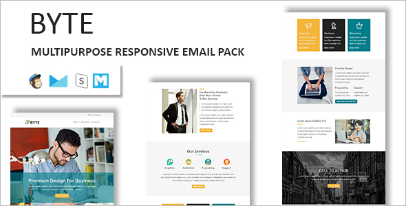 25 marketing email templates free premium examples creative responsive email template pronofoot35fo Choice Image