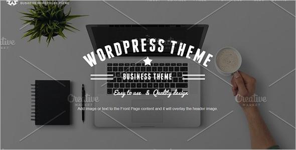Multi Use Business WordPress Theme