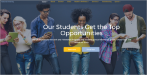 National Education HTML Template