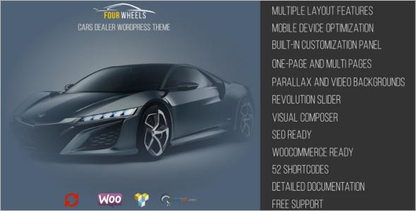 New Car Dealer WordPress Theme