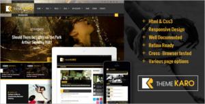 New Magazine HTML5 Template