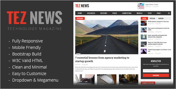 News HTML5 Template