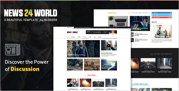News Magazine CSS3 Template