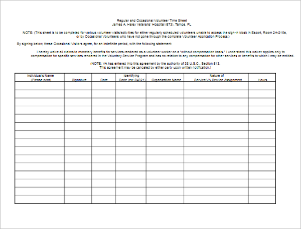 50 printable timesheet templates free word excel documents