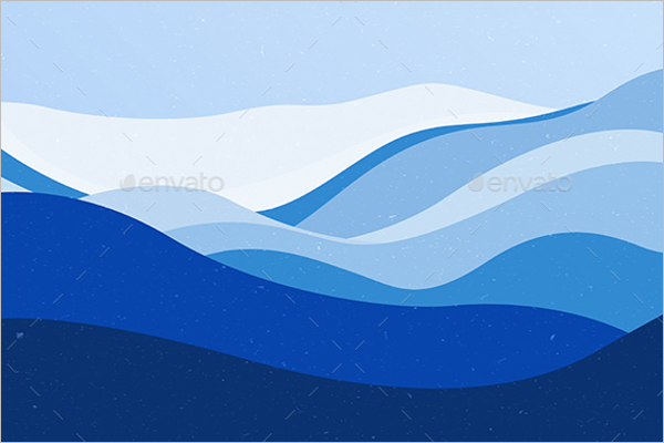 Ocean Wave Background