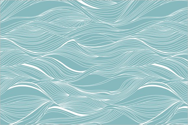 Ocean Wave Pattern Design