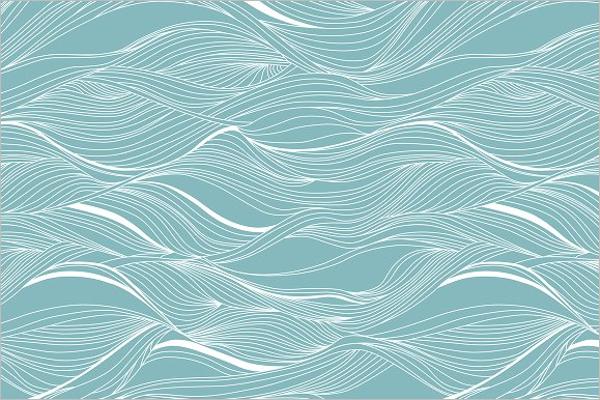 Ocean Wave Pattern Design