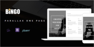 One Page Parallax Template