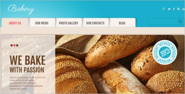 Online Cake Shop Website Template