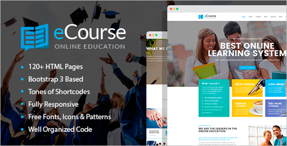Online Education HTML Template