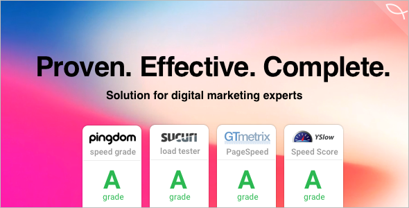 Online Marketing & Social Media WordPress Theme