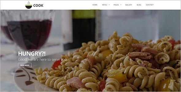 Online Restaurant HTML Template