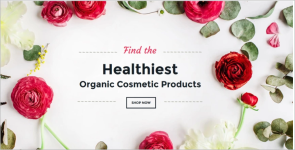 Organic Cosmetics Woocommerce Theme