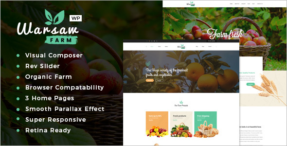 Organic & Eco Products WooCommerce Theme