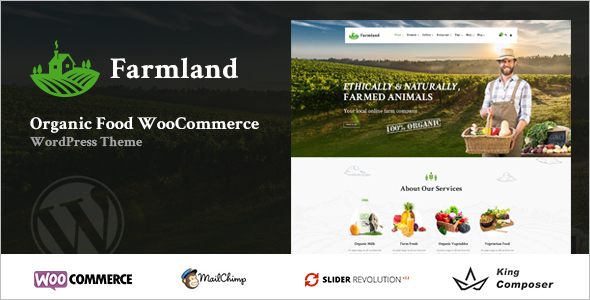 Organic Farm Woocommerce Theme