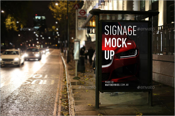 OutdoorAdvertising Mockup Template