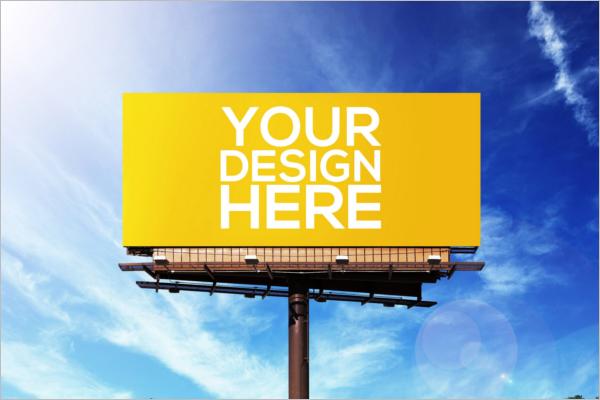 PSD Advertising Mockup Template