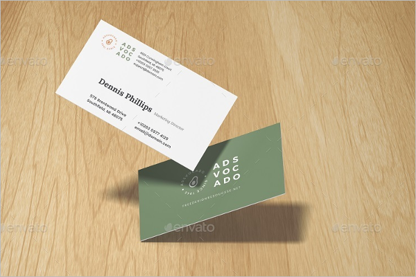 PSD Business Card Mockup Design
