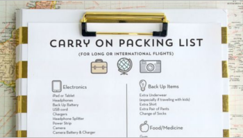 Packing List Templates