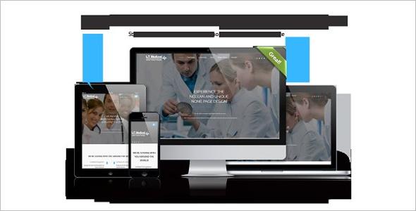 Parallax WordPress Theme for Hospital