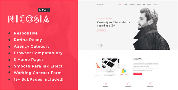 Personal Agency HTML5 Template