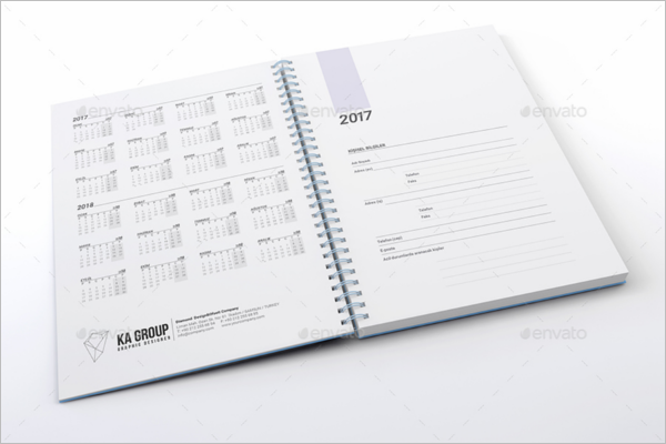 Personal Planner Format