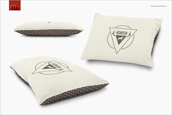 Pet Pillow Mockup Template