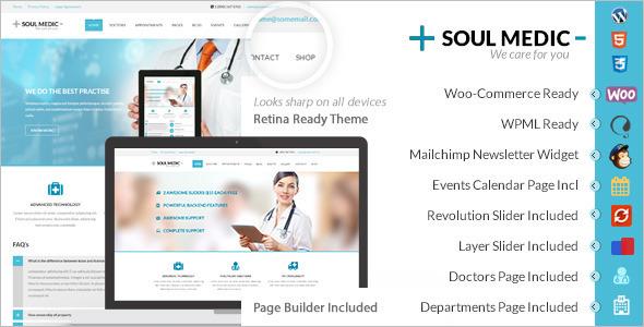 Pharmacy Website WordPress Theme
