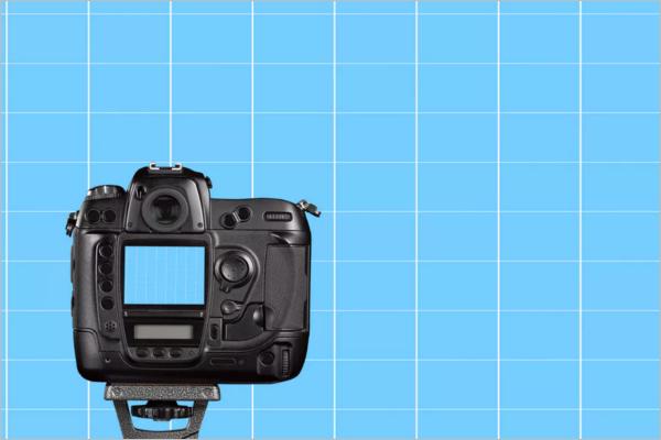 Photo Camera Mockup Design