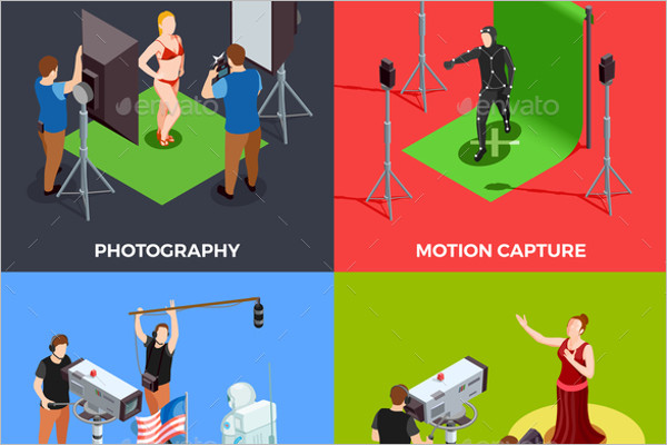 Photography Abstrat Vector Background