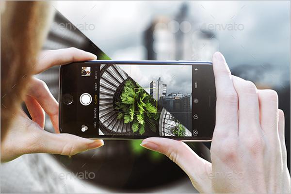 Photrealistic Camera Mockup Design
