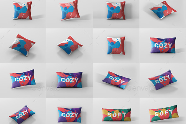 Pillow Mockup Bundle Design