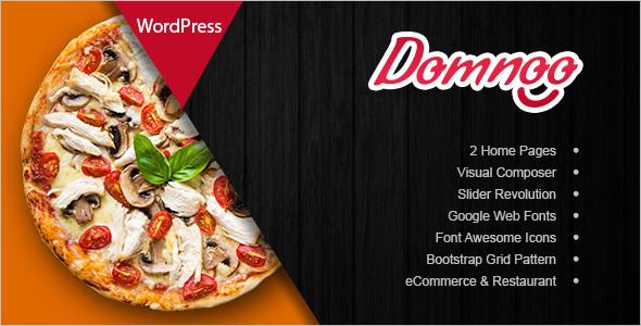 Pizza & Restaurant WordPress Theme