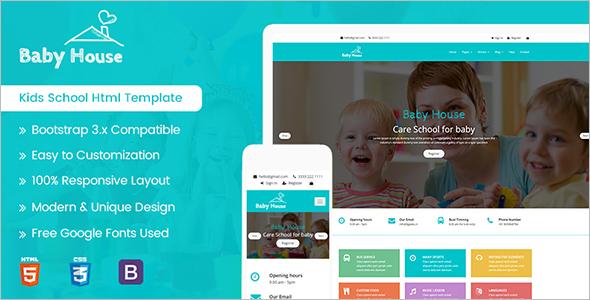 Play School HTML5 Template